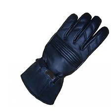 Gloves Men Gents Big Gloves in pure Leather for Winter  Rainy Season for Driving