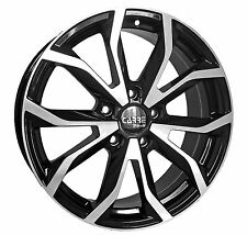 "17"" BMW 3 SERIES ALLOY WHEELS BLACK POLISHED CARRE SPIDER (1993>ONWARDS)"