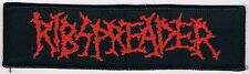 RIBSPREADER logo Patch revolting paganizer unleashed god macabre end entombed