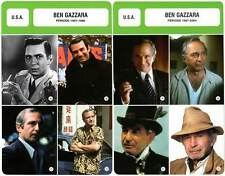 FICHE CINEMA x2 : BEN GAZZARA DE 1957 A 2004 -  USA (Biographie/Filmographie)