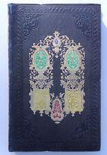 Cartonnage romantique. QUINZE JOURS AU RAINCY par Louise BABEUF. Ed. Lehuby 1847
