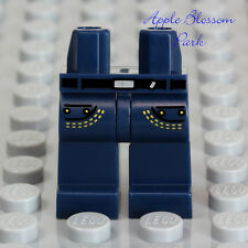 NEW Lego Minifig Dark BLUE JEAN LEGS -Boy/Girl Minifigure Pants Pocket Star Wars