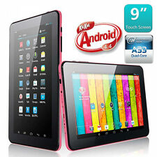 "9"" WiFi 8GB Tablet PC Quad Core Android 4.4 A33 Cámara Doble Funda con Teclado"