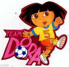 "6"" DORA & DIEGO SOCCER SPORT CHARACTER  PEEL STICK WALL BORDER CUT OUT STICKER"