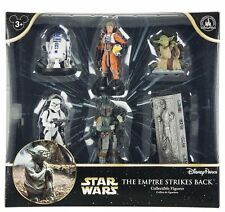 NEW Disney Parks Star Wars Empire Strikes Back 6 figurine figure set Luke Yoda