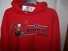 Tampa Bay Buccaneers Bucs Red Hooded Sweatshirt   Mens 2XL New with Tags