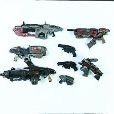 8 pcs Lot Gears Of War Weapons accessories for 7 inch Figure toy Baby Boy Gift
