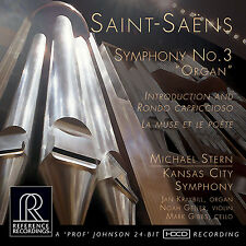 * REFERENCE RECORDINGS - RR-136 - SAINT-SÄENS - ORGAN SYMPHONY - STERN - CD *