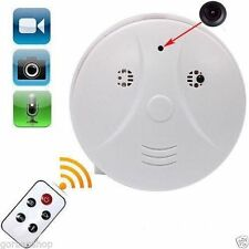 Spy Hidden Camera Cam Smoke Alarm Detector DV Video Voice DVR Motion Micro Sd