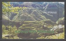 Philippine Stamps 200 Tourist Spots Banaue Rice Terraces ss, second printing