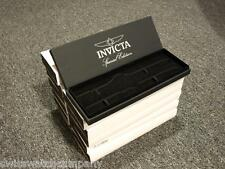 Original Invicta Spacial Edition Black Lot Of 10 boxes,serious collector item