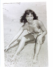 Bettie Betty Page Leggy Busty 8x10 photo F8384