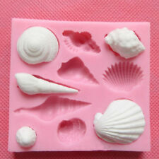 3D Cake Mold Animal Shell Fondant Chocolate Decor Mould DIY Baking Silicone Tool