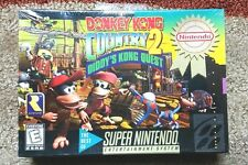 Donkey Kong Country 2: Diddy's Kong Quest (Snes) Brand New, Sealed