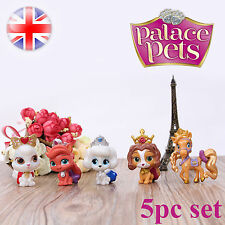 Palace Pets Cake Toppers Princess Figures Pony Ponies Kids Toy Gift 5pc Set 2016