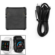 USB Charger Charging Cable Smart Watch Dock Cradle Stand For Garmin Vivoactive