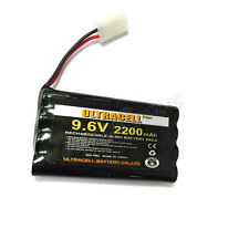 1 9.6V 2x4 8AA 2200mAh NiMh Reachargeable Battery Pack