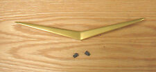 1957 CHEVY GOLD NOMAD TAIL GATE VEE , NEW Also fits Continental Kit