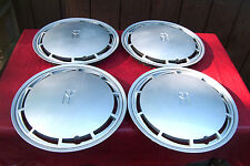 set of 4 OE 14 inch wheelcovers, 1988-89 Olds Cutlass Supreme # 4109