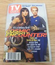 TV Guide April 10, 1999 Issue #2402 Vol. 47 No. 15 - Lucy Lawless & Jeri Ryan