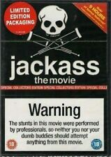 JACKASS THE MOVIE SPECIAL COLLECTORS EDITION PARAMOUNT UK 2006 REGION 2 DVD NEW