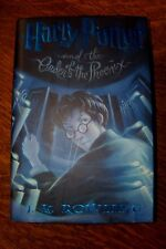 HARRY POTTER & THE ORDER OF THE PHOENIX by J. K. Rowling (2003, Hardcover)