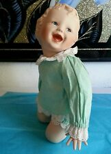 Porcelain Baby doll Lifelike Face 11 1/2 inches Toys Gift/collection.