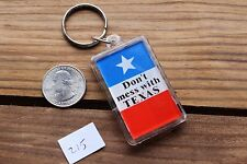 Dont Mess With Texas Plastic Thermometer Novelty Keychain Key Fob Ring #215