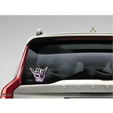 SC025 - Santa Cruz Hang Loose / Shaka Hand Color Sticker / surfing skateboarding