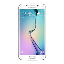 Samsung Galaxy S6 Edge 64GB Smartphone SMG925VZWE Verizon White Brand New