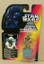 Star Wars POTF YODA Figure w Backpack & Gimer Stick Kenner 1996 Tri Logo RARE