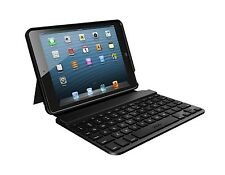 K27 ZAGG ZaggKeys 7 Folio Bluetooth Keyboard Case w/Stand for iPad Mini (Black)