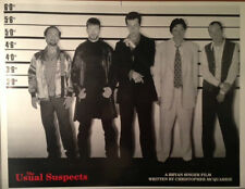 THE USUAL SUSPECTS Movie Poster - Cast Lineup Full Size Print ~ kevin Spacey