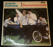 Chesterfield Kings Surfin Rampage LP 32 tracks Sealed Surf Garage Andy Babiuk