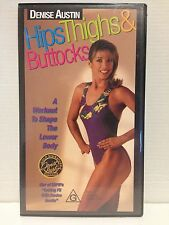 DENISE AUSTIN ~ HIPS, THIGHS & BUTTOCKS ~ WORKOUT ~ VHS VIDEO ~ FREE POST