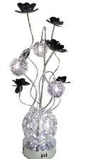 60cm Flower LED Aluminium Vase Design Lamp Modern Ornament Decoration Piece