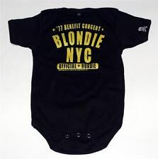 BLONDIE New Wave Pop Rock 1977 NYC Concert Baby Infant Toddler BODYSUIT CLOTHING