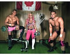 NATALYA WWE SIGNED PHOTO HART DYNASTY PROMO wwf NATTIE DH SMITH TYSON KIDD