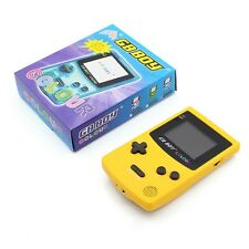 Kong Feng GB Boy Color Colour Handheld Game Consoles  with Backlit 66 Yellow