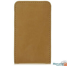XtremeMac MicroWallet Real Leather for iPod nano (light brown), great quality