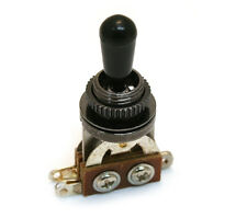 Black Short Straight 3-way Pickup Toggle Switch for Guitar/Bass EP-0066-003