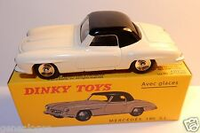 DISPONIBLE DINKY TOYS ATLAS MERCEDES 190 SL COUPE BICOLORE 1/43 REF 526 IN BOX
