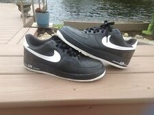 NIKE AIR FORCE 1 ONE '07 PLAYERS 2006 BLACK WHITE 25TH AF1 BASKETBALL 315092-011