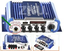 12V Digital Mini 2CH HIFI Audio Stereo Amplifier AMP FM MIC ipod MP3 Car Home