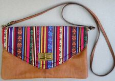 Handbag Material Girl Shoulder Bag Convert Clutch Woven Flap Brass Toggle unused