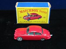 VINTAGE MATCHBOX LESNEY #65 JAGUAR 3.8 SEDAN   (8003-MATCH-Y)
