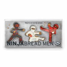 Fred Kung Fu Ginger Ninja Bread Men The Ultimate Cookie Cutters KungFu