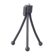 Neewer Black Small Bendable Flexible Spider Leg Tripod for Compact Cameras