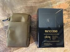 Stussy x Incase Black Series 001 Gold Desert Tan Utility Pouch Rare NEW