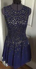 NWT Rebecca Taylor Blue Embellished Dress- Size 6 - MSRP $1,395
